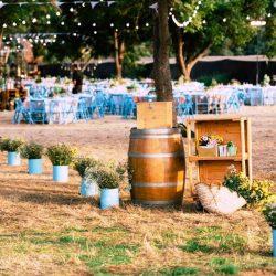 חתונה שונה חבית יין