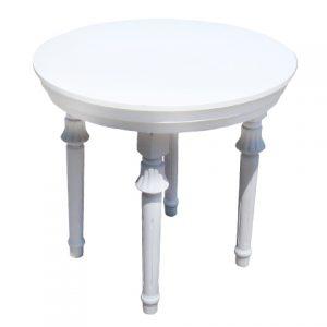 שולחן דור רגל מפוסלת