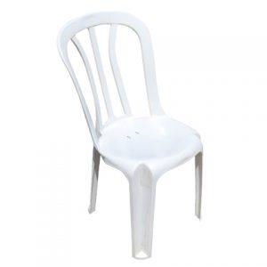 כיסא פלסטיק לבן