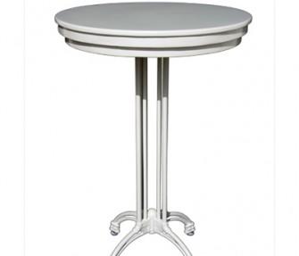 שולחן עגול גבוה להשכרה
