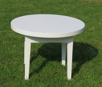 השכרת שולחן עץ עגול