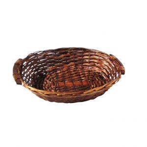 סלסלת לחם עגולה גדולה