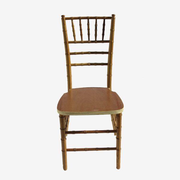כיסא פארטי צ'ייר צבע עץ