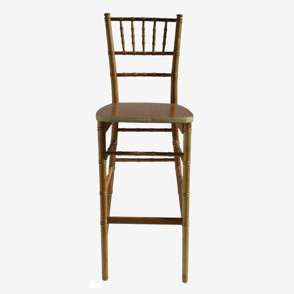 כיסא בר פארטי צייר צבע עץ