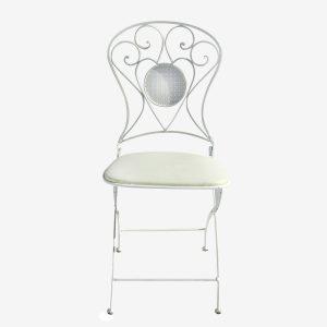 כיסא ברזל עיצוב אנגלי