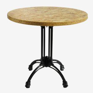 שולחן עגול 0.80 בית קפה שוהם