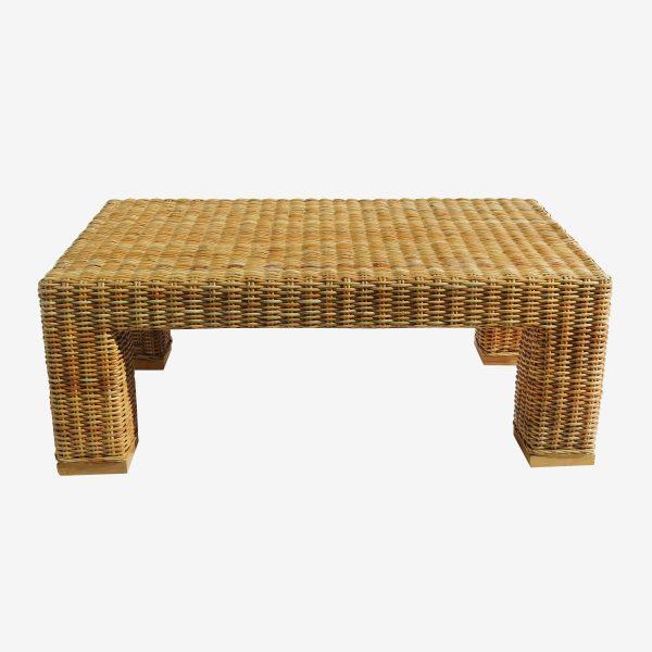 שולחן ראטן קליעת ענפים