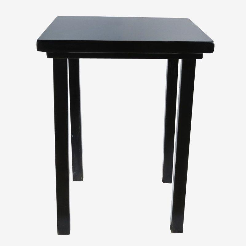 שולחן בר עץ שחור