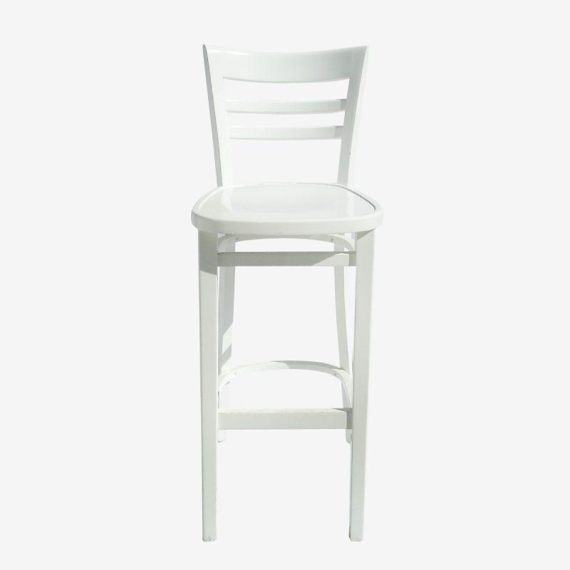 כיסא בר לבן קימבה