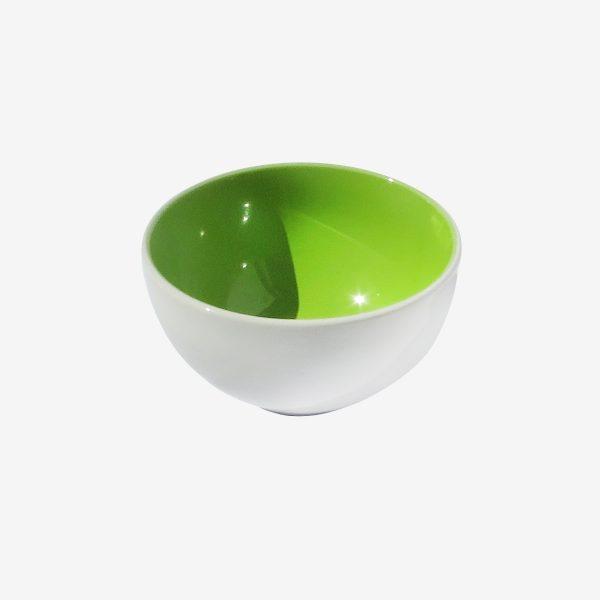 קערית למרק ירוקה פורצלן