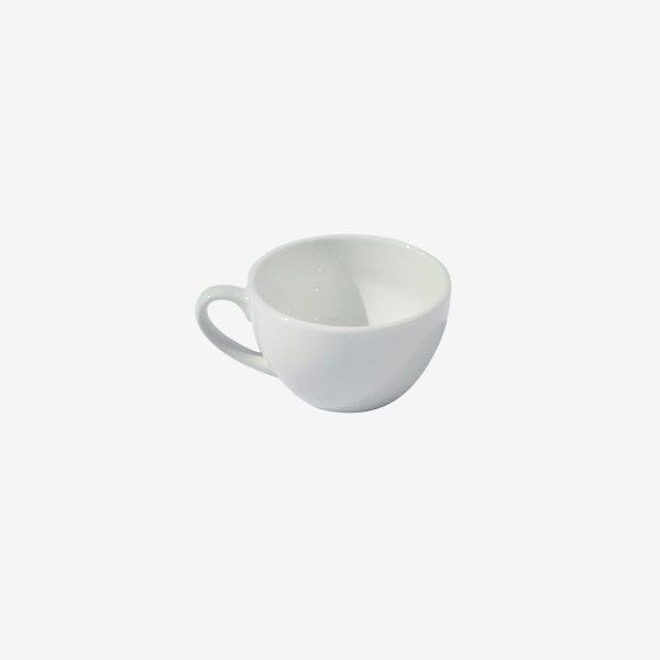 ספל קפה לבן ביסטרו