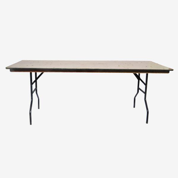שולחן מלבן 0.80/2.05