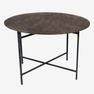שולחן עגול 1.60