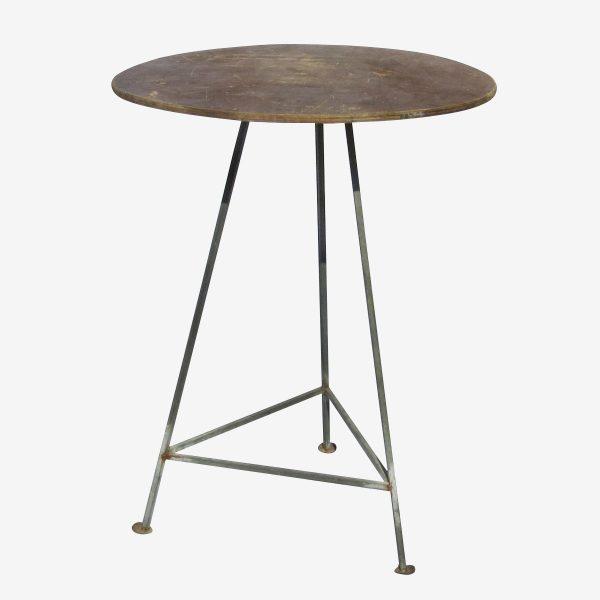 שולחן עגול גובה בר 0.80