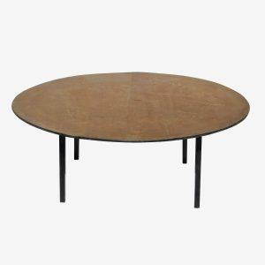 שולחן עגול 1.80