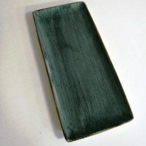 פלטה מלבנית 16X36.5 כחול ריבלין