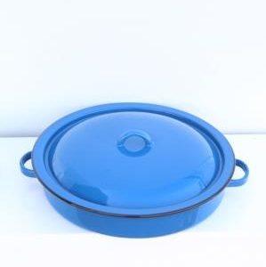 כחול עם מכסה