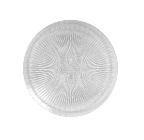 צלחת זכוכית עיקרי טורקית קוטר 28