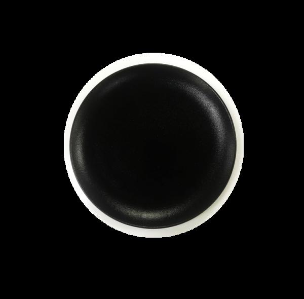 צלחת שחורה עיקרית