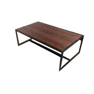 שולחן סלוני עץ ברזל